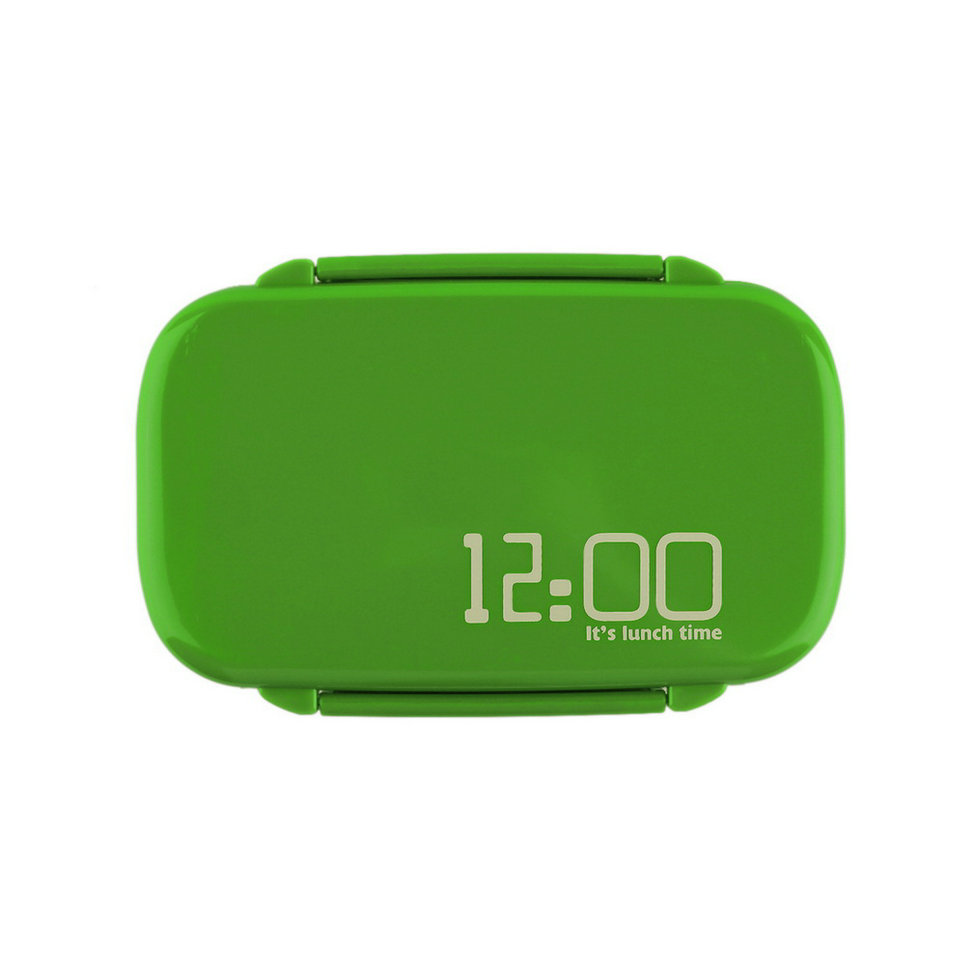 allwin portable 2 layers bento lunch box plastic food container lunch container green lazada. Black Bedroom Furniture Sets. Home Design Ideas