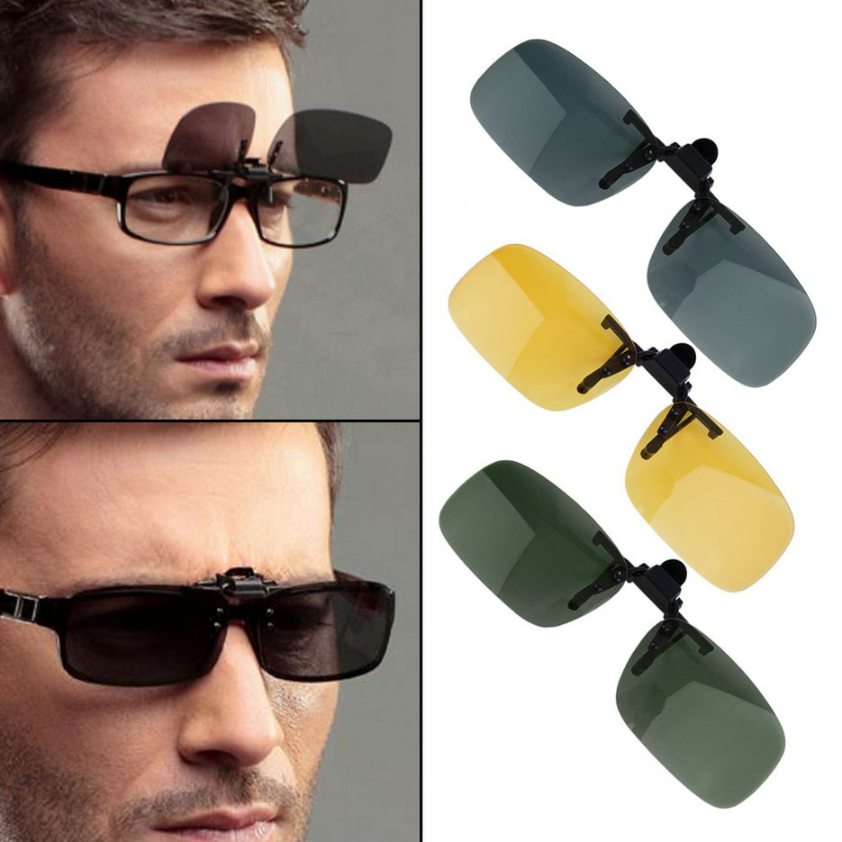 Clip On Night Driving Glasses Aa