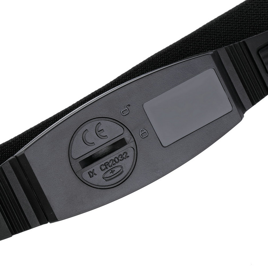 Fitness-Pulse-Heart-Rate-Monitor-Watch-Chest-Strap-Pedometer-Calorie-Counter-G