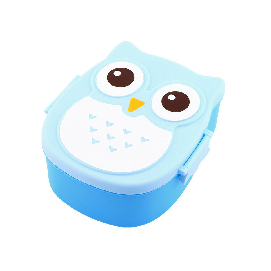 1050ml owl lunch box bento food safe plastic food picnic container portable yl ebay. Black Bedroom Furniture Sets. Home Design Ideas