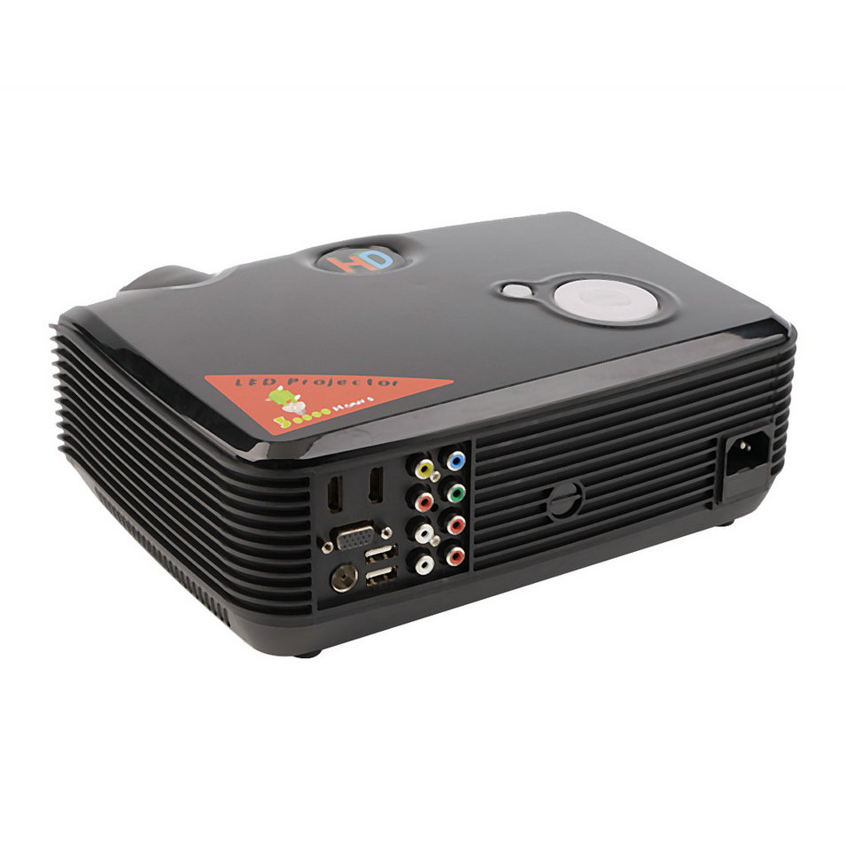 yks 2500 lumens lcd projector with hdmi input home theater