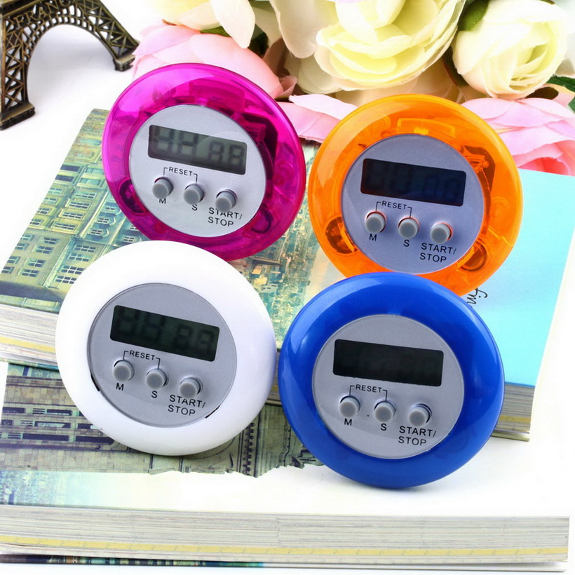 New Cute Mini Round LCD Digital Cooking Home Kitchen