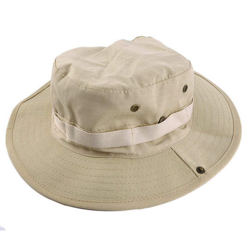 Bucket hat boonie hunting fishing outdoor wide cap brim for Fishing bucket hat