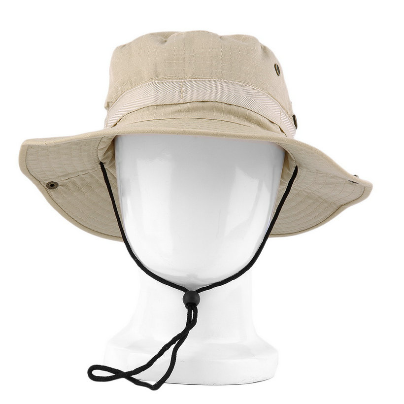 Bucket hat boonie hunting fishing outdoor wide cap brim for Fishing bucket hats