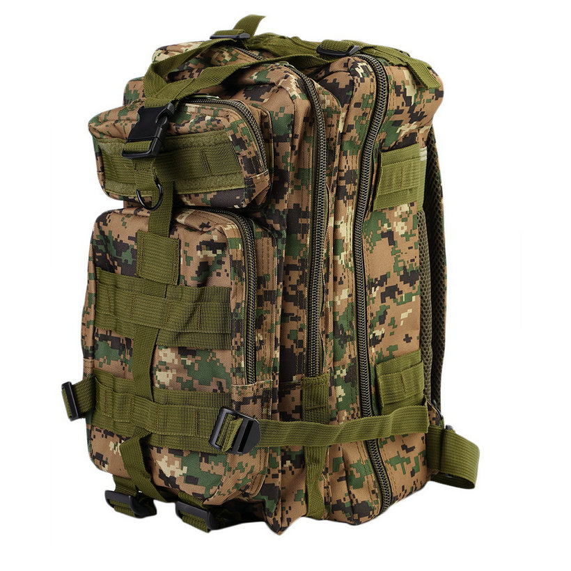 30L Military Tactical Backpack Molle Rucksacks Camping Hiking ...