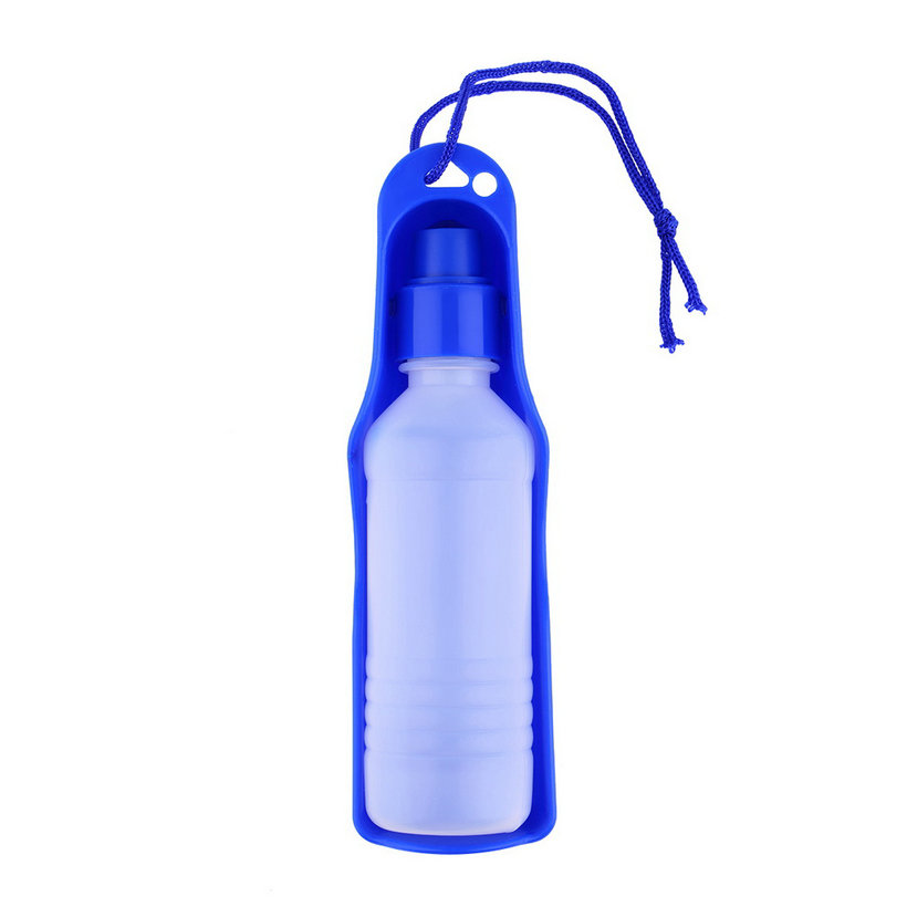 Portable Pet Dog Cat Travel Water Drink Bowl Bottle