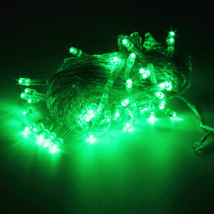 Christmas Decorating With String Lights : M led holiday christmas party string fairy outdoor