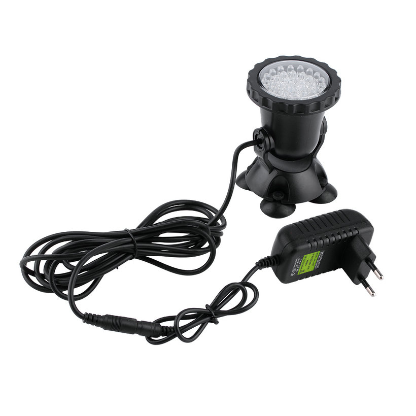 36 led submersible underwater spot light outdoor garden pond fish tank lamp sy ebay. Black Bedroom Furniture Sets. Home Design Ideas