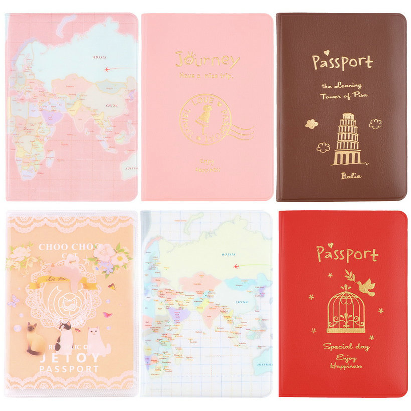 New Travel Passport Holder Protect Cover Case Card Ticket Container Pouch QT