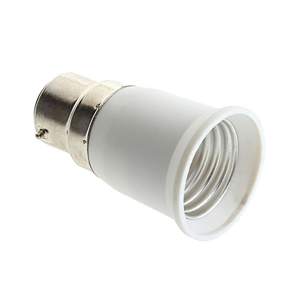 B22 to e27 socket light bulb lamp holder adapter plug extender lampholder gu ebay Light bulb socket