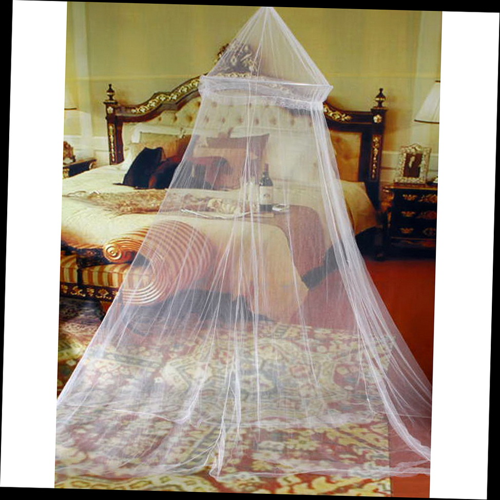 Elegant Round Lace Insect Bed Canopy Netting Curtain Dome Mosquito Net G Ebay