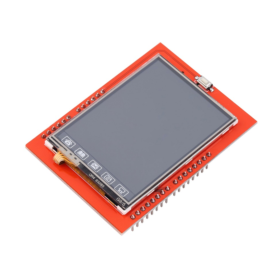 Inch tft lcd shield socket touch panel module for
