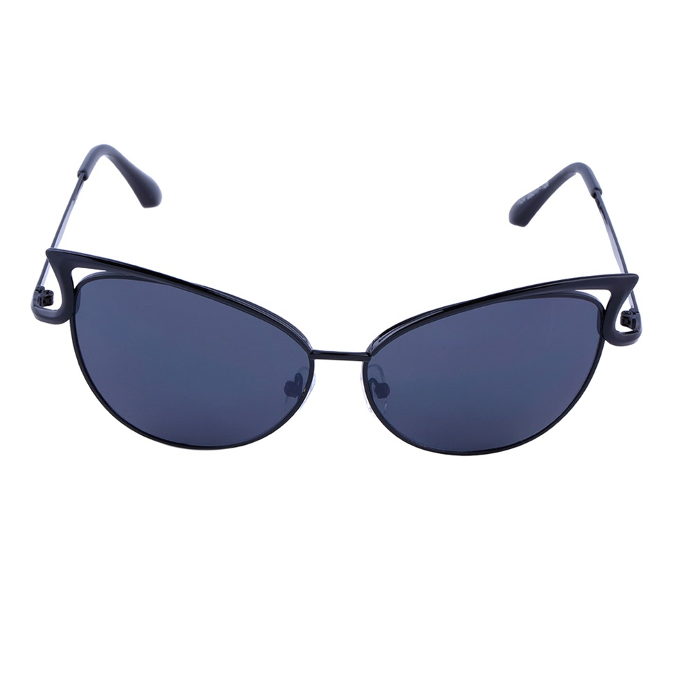 Women Ladies Cat Eye Retro Vintage Style Metal Frame ...