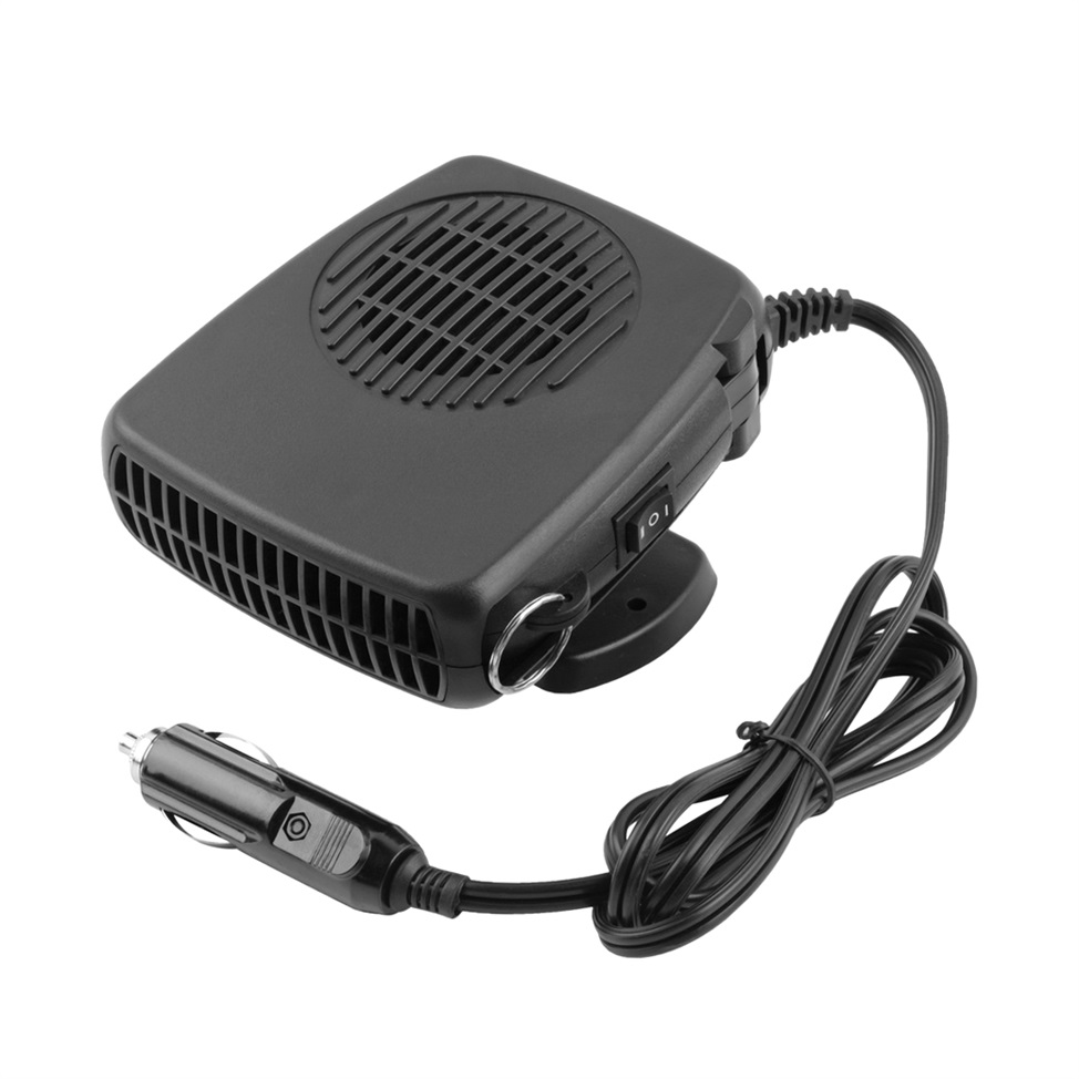 Portable Fan For Car : V portable car vehicle heating heater fan defroster
