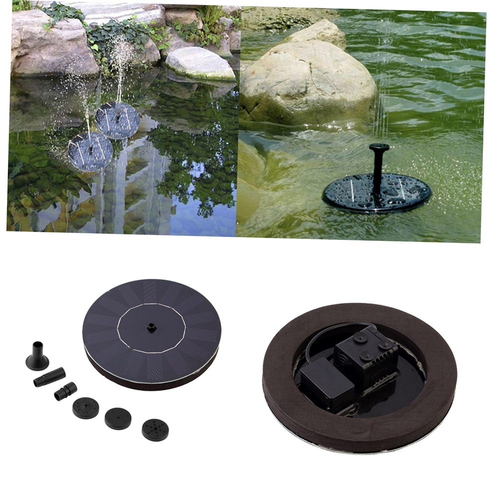 Solar Powered Water Pump Garden Fountain Pond For Waterfalls Water Display Gh Ebay