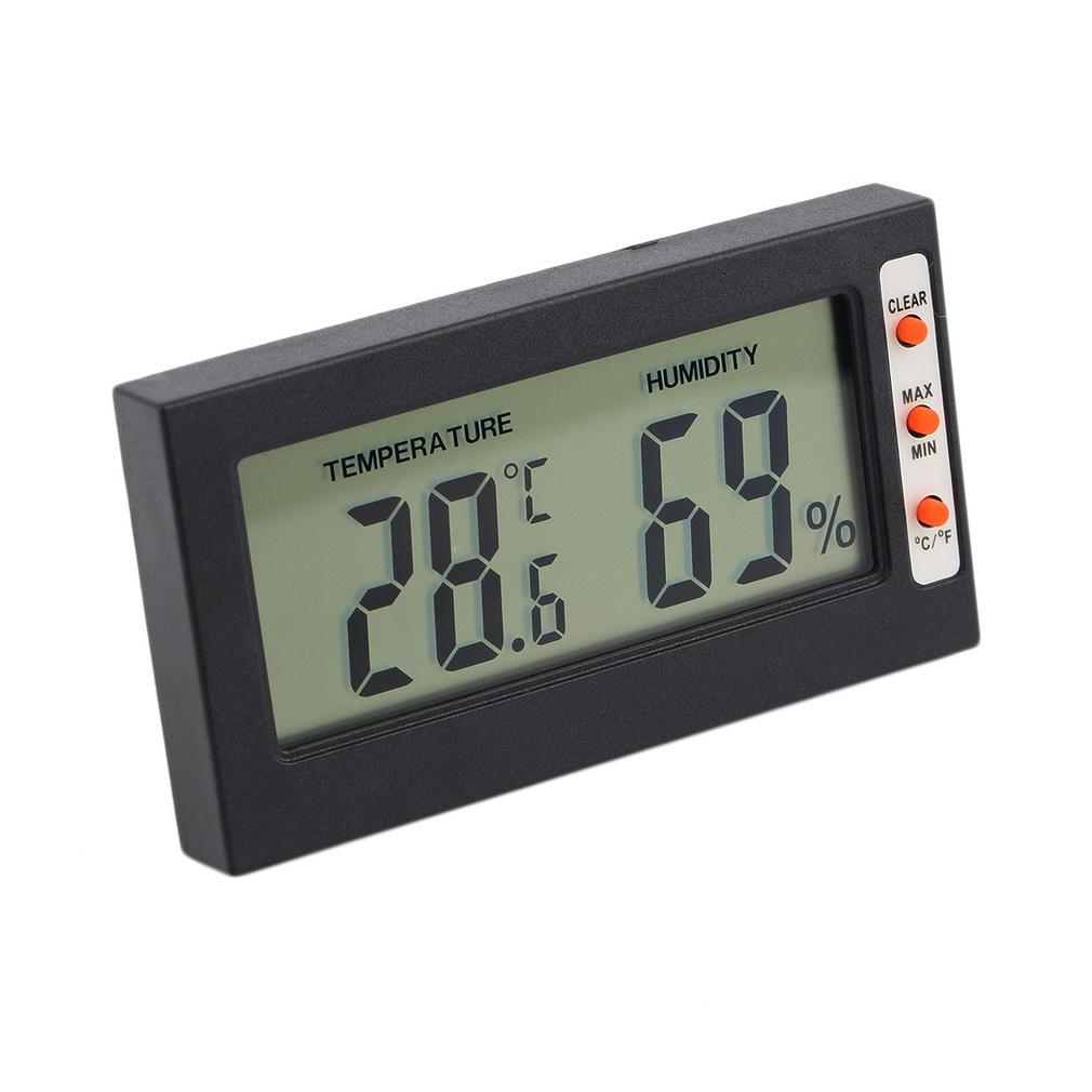 Digital Humidity Meter : New digital lcd thermometer hygrometer temperature