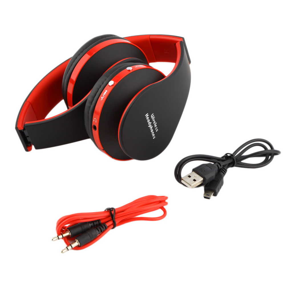 faltbare kabellos bluetooth stereo headset kopfh rer f r. Black Bedroom Furniture Sets. Home Design Ideas