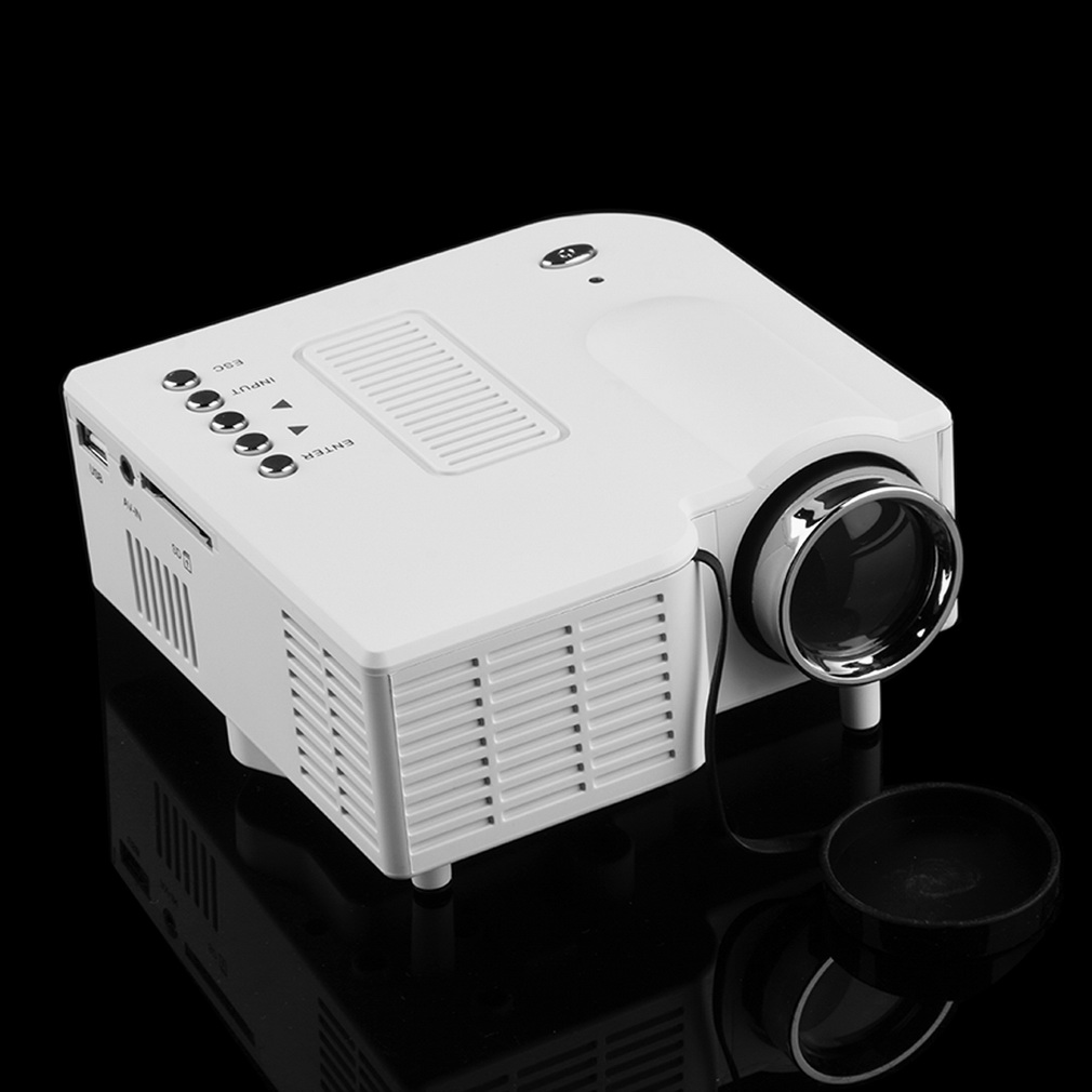 Laptop portable projector presentation sales mini hd led for Best mini projector for laptop