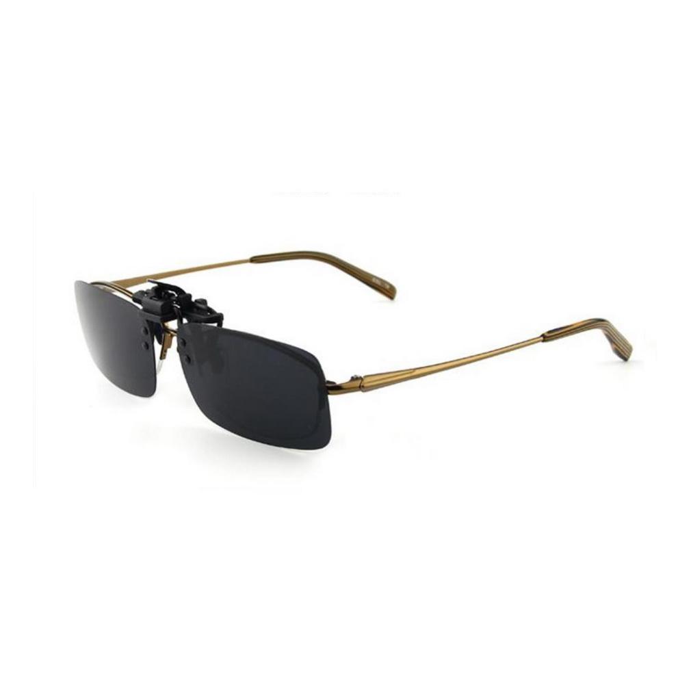 Eyeglass Frames Flip Up Sunglasses : Driving Night Vision Clip-on Flip-up Lens Sunglasses ...