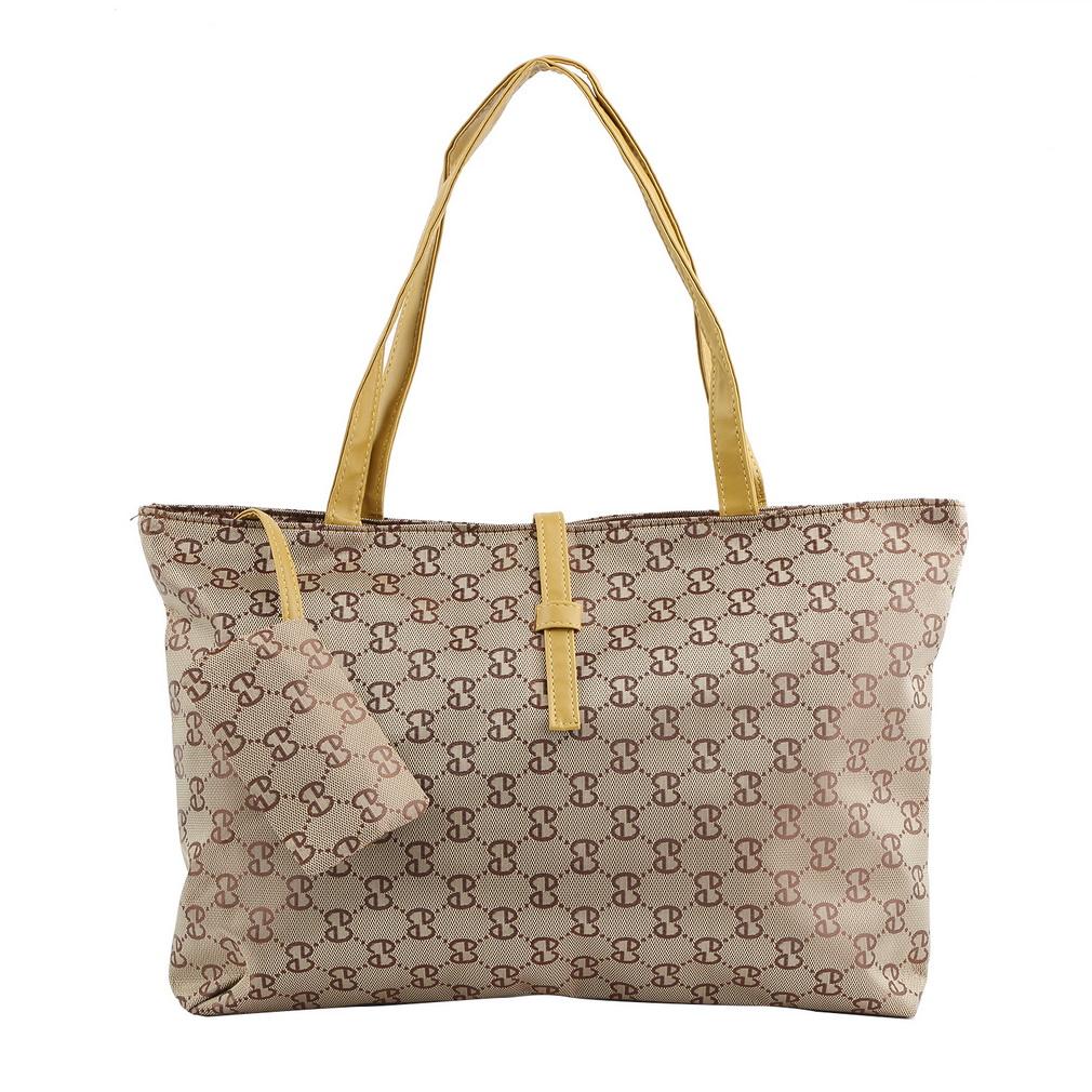 Simple Women Leather Handbag Brown Tote Bag Ladies Shoulder Korean Fashion Style | EBay