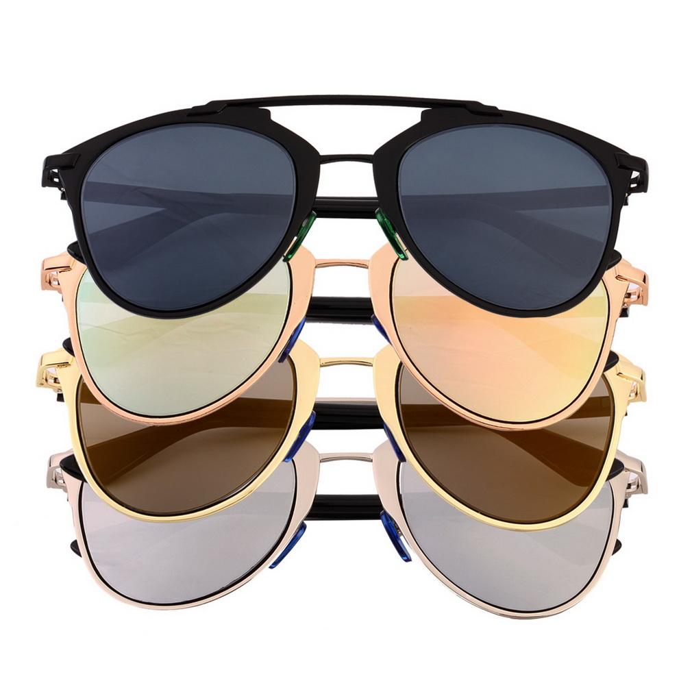 910578c8b2 Compra ER New Classic Cat Frame Grandes Gafas De Sol De Las Mujeres ...