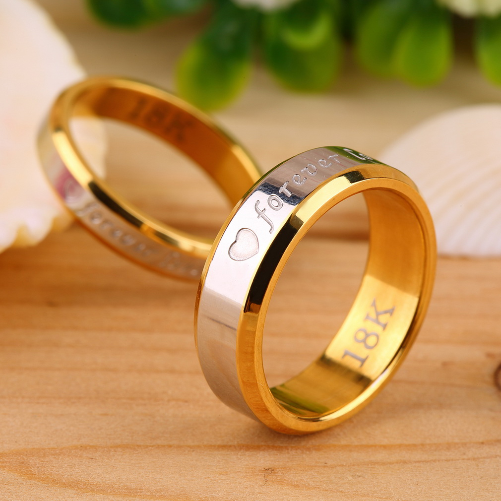 rings evermarker love couple only simple creative products you