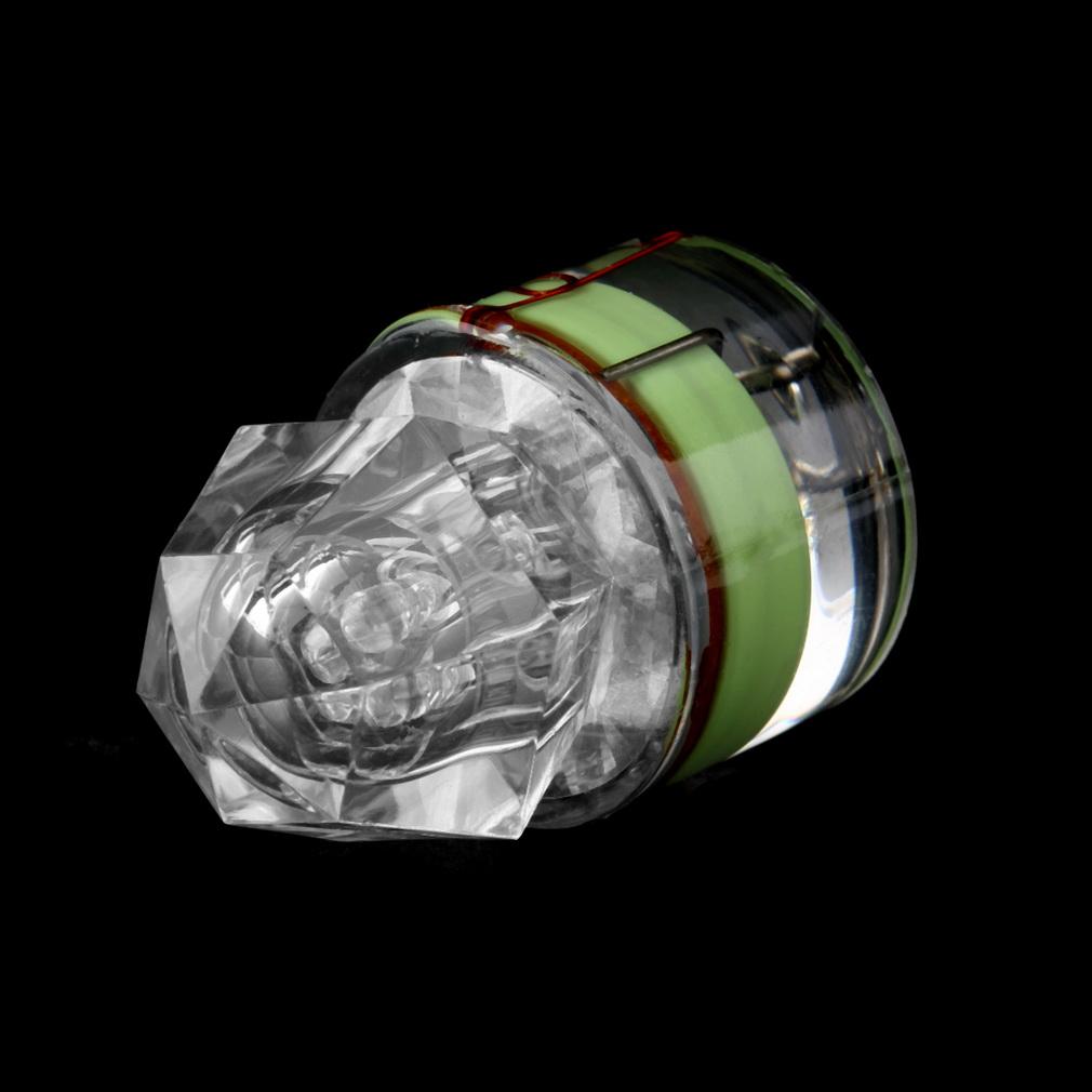 Led fishing light deep drop underwater diamond shaped for Underwater led fishing lights