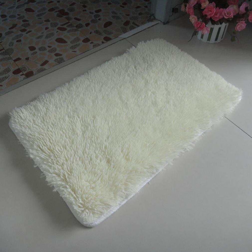 Soft anti skid carpet flokati shaggy mat rug for living for Soft carpet for bedrooms