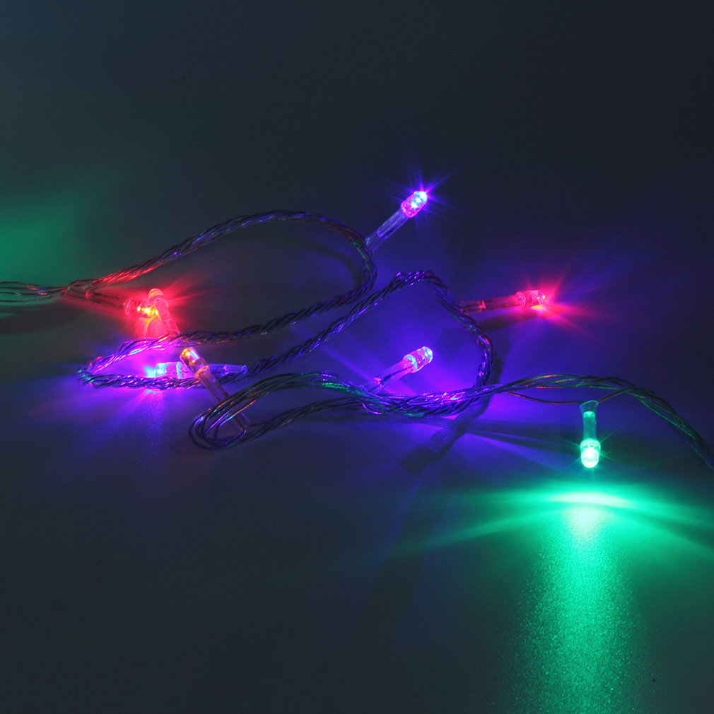 Holiday Party String Lights : 10M 100LED Holiday Christmas Party String Fairy Outdoor Garden Lights Decor BS