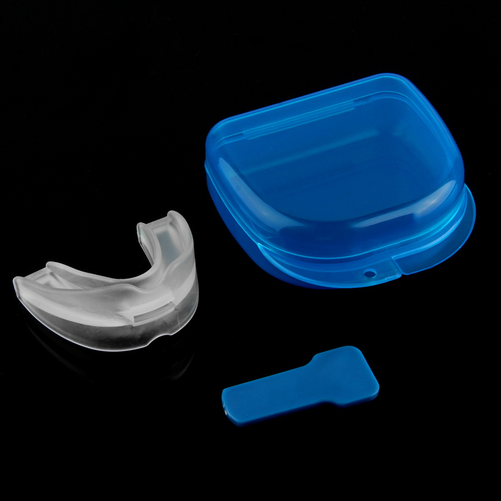 stop snoring sleep apnea mouthpiece tray stopper mouthguard anti snore lm