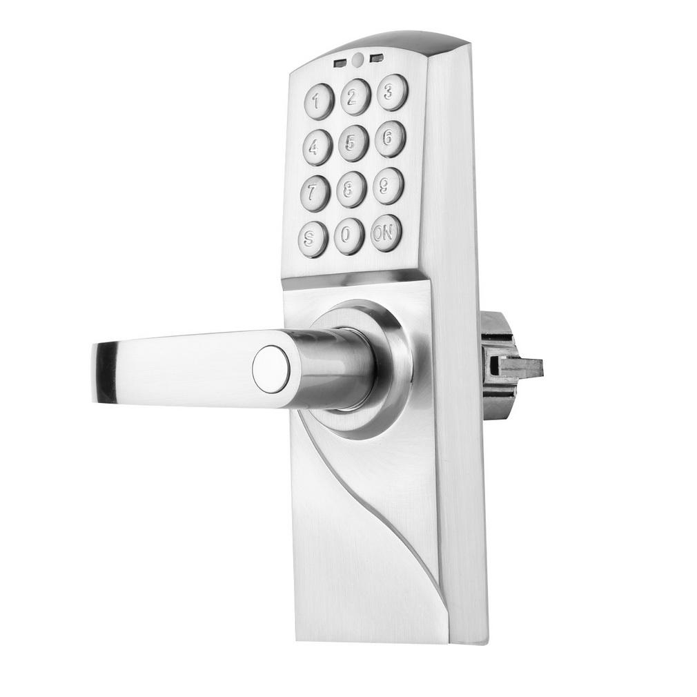 digital electronic code keyless keypad security entry door lock left handle n. Black Bedroom Furniture Sets. Home Design Ideas