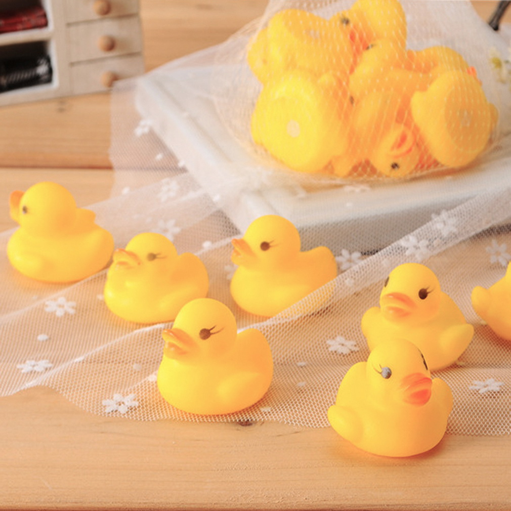10pcs baby bathing bath tub toys mini rubber squeaky float duck yellow zl09500 11street. Black Bedroom Furniture Sets. Home Design Ideas