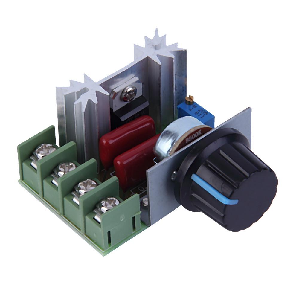 2000w Ac 220v Scr Voltage Regulator Speed Controller