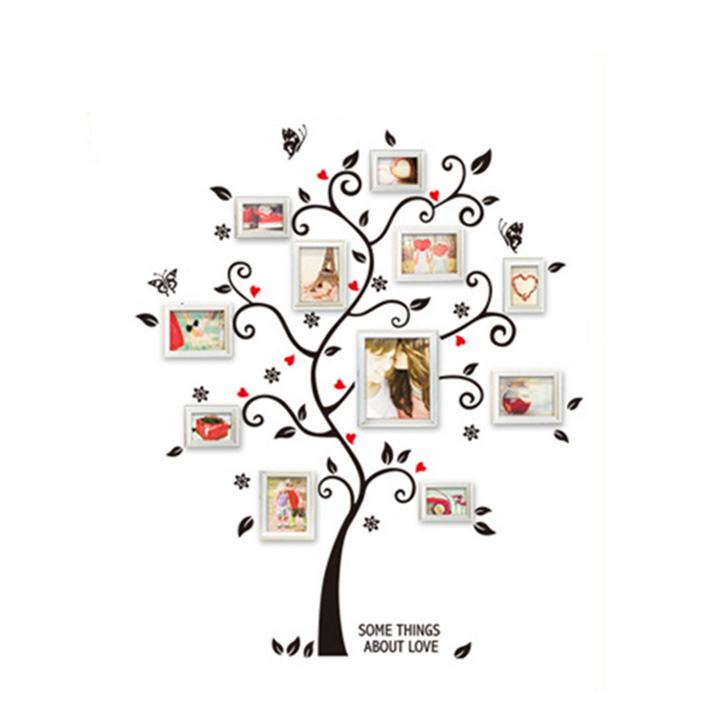 Compra ER Árbol Creativo Pared Sticker Decal Extraíble Mural PVC ...