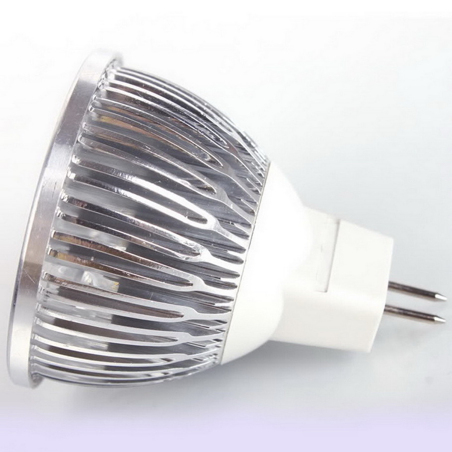 Led Spotlight Light Bulbs: 4 LED MR16 4W 12V Cool White Spot Light Bulb Lamp
