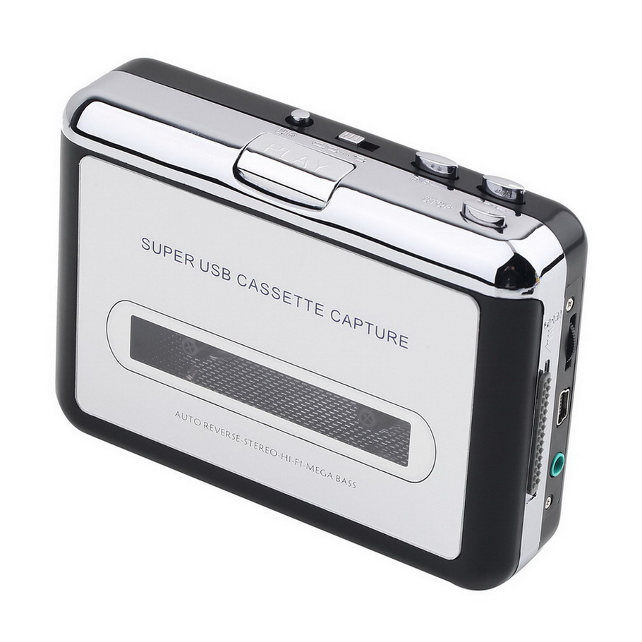 tape to pc usb cassette mp3 cd converter capture digital audio music player de ebay. Black Bedroom Furniture Sets. Home Design Ideas