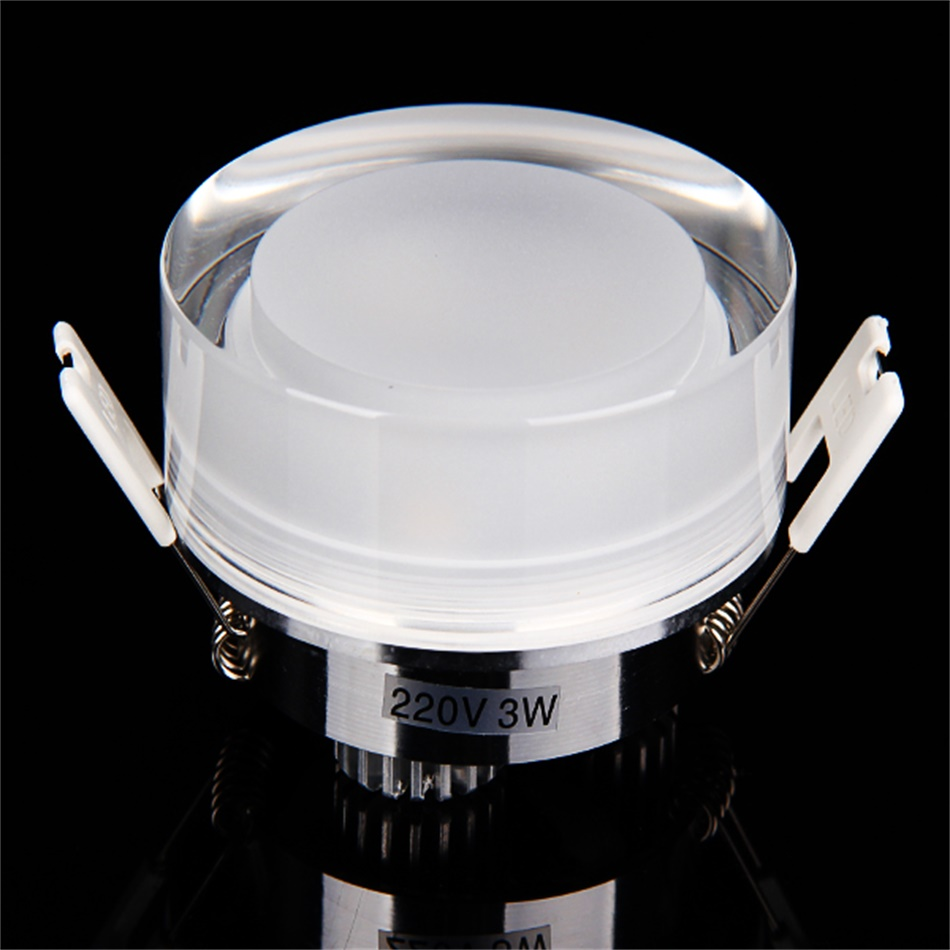 Modern 3w led surface mounted ceiling down light wall kitchen bathroom lamp zd for Ceiling mounted bathroom lighting