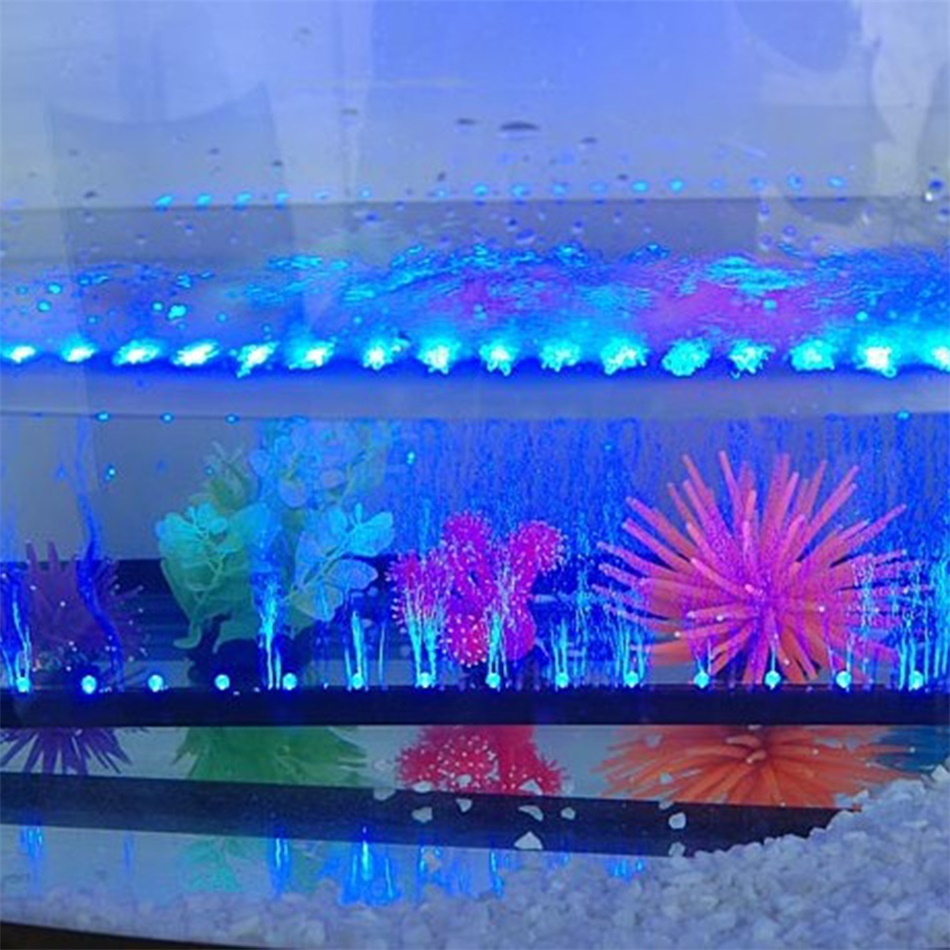 18 30 42 57 led aquarium fish tank light lighting for Fish tank lighting