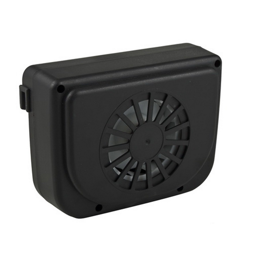 Air Cooler Fan : Solar sun power car auto air vent cool fan cooler