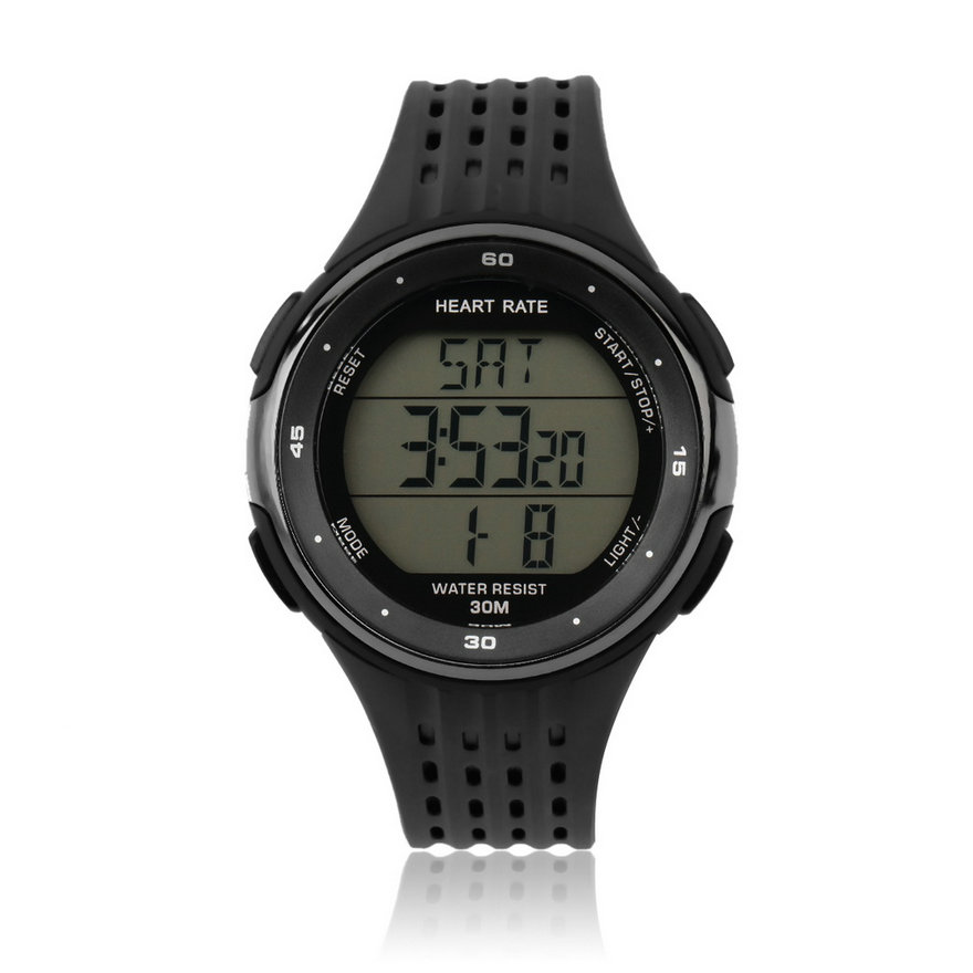 Outdoor sports watches wireless chest strap heart rate watches p3144 models mc ebay for Outdoor watches