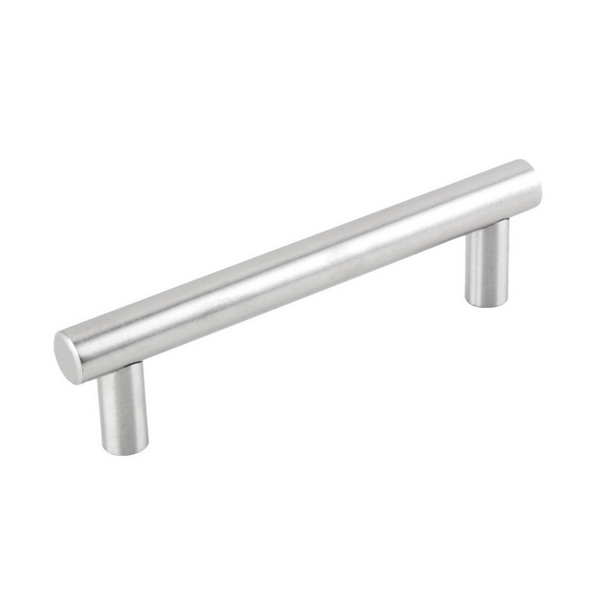 Brushed Stainless Steel Kitchen Cabinet Pulls: Solid Stainless Steel Bar Pull Kitchen Cabinet Door Handle
