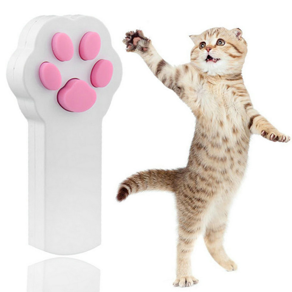 New Funny Pet Cat Dog Interactive Automatic Red Laser