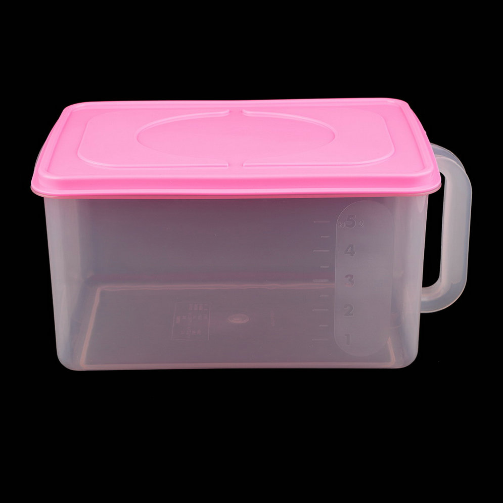 refrigerator airtight food storage clear plastic rectangle container box f7 ebay. Black Bedroom Furniture Sets. Home Design Ideas