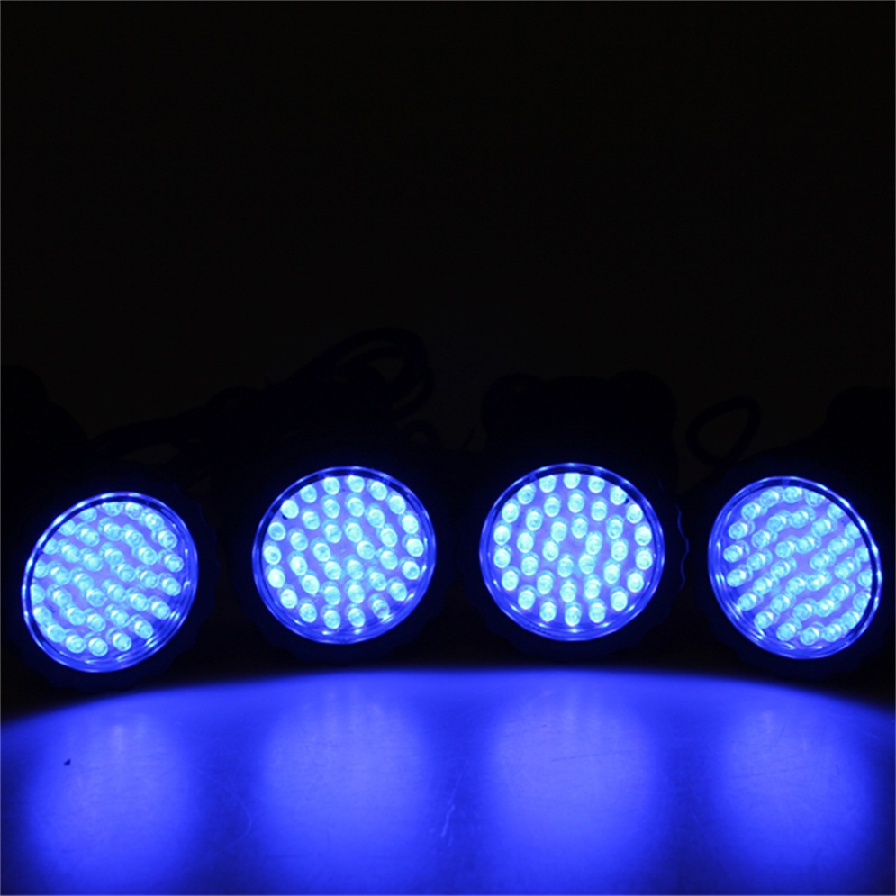 36 led blue fish tank pool pond light garden fountain for Koi pond underwater lighting