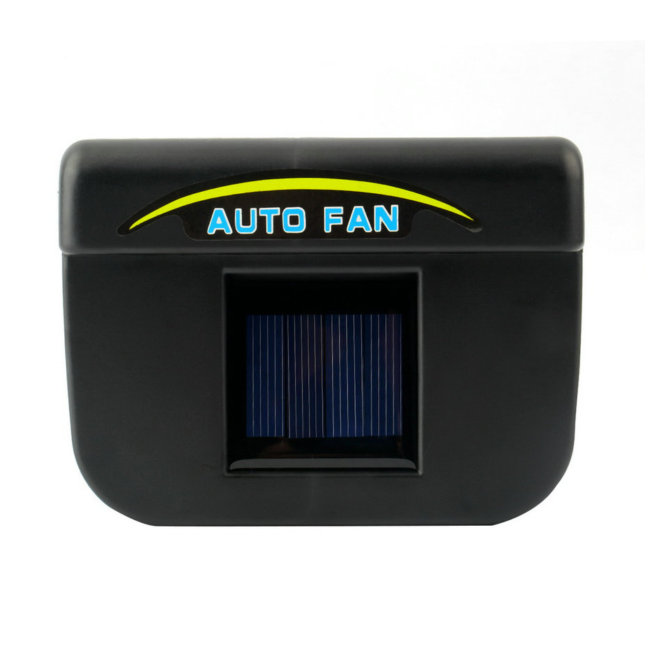 2017 solar power car window auto ventilator cooler air vent vehicle ventilation ebay. Black Bedroom Furniture Sets. Home Design Ideas
