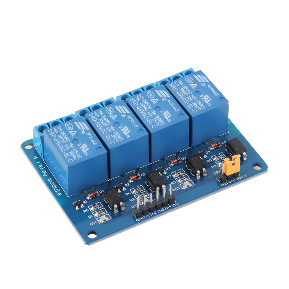 4 Channel 5V Relay Module Board Shield For PIC AVR DSP ARM MCU for Arduino SY