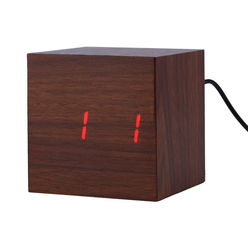 how to set alarm on cube clock