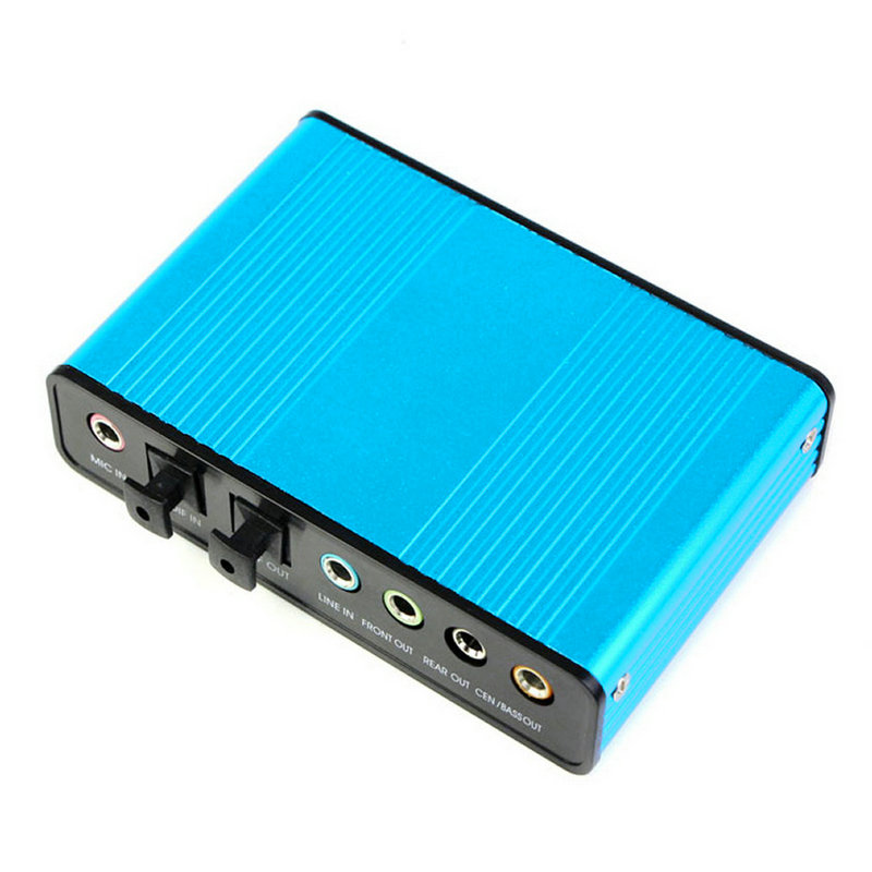 USB 6 Channel 5.1 Audio External Optical Sound Card Adapter For PC Laptop AU   eBay