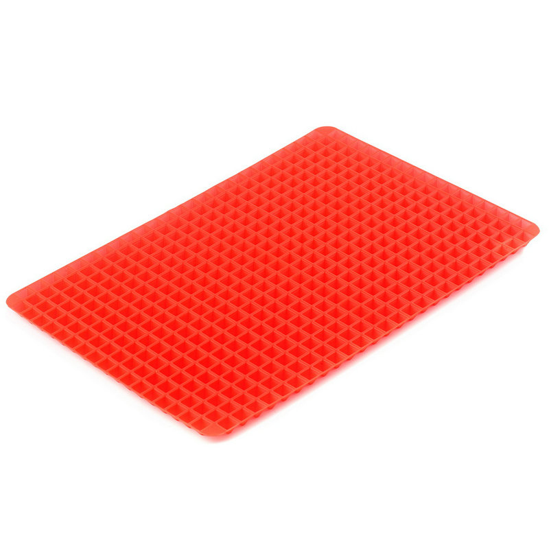 Non-stick Silicone Pyramid Pan Baking Mat Mould Cooking ...