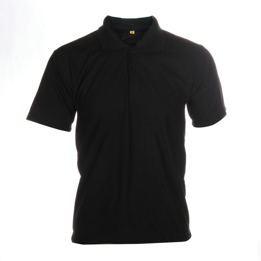 Solid color mens lapel polo shirt short sleeve casual tee for Solid color short sleeve dress shirts